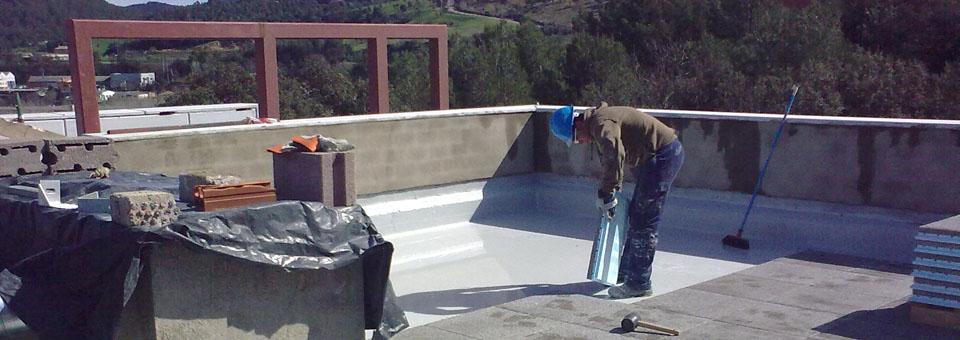 Ремонт на плоски покриви